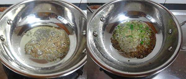 tempering for aloo paratha