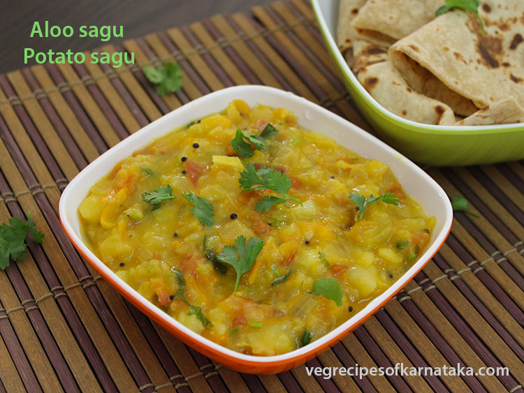 Aloo sagu or potato sagu recipe