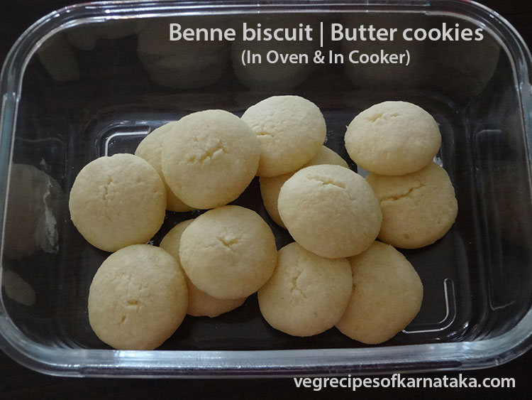 benne biscuit or butter cookies recipe