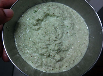 spicy coconut chutney for davangere benne dosa