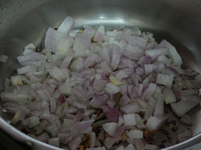 onion for chana masala or chole masala