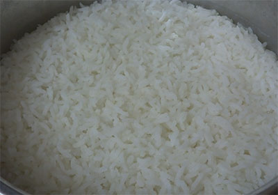 rice for chitranna or lemon rice