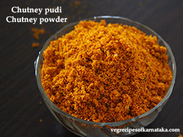 chutney powder recipe