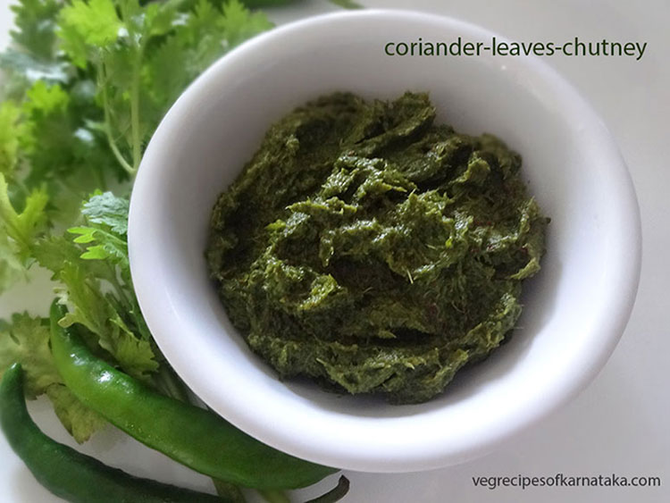 coriander leaves chutney