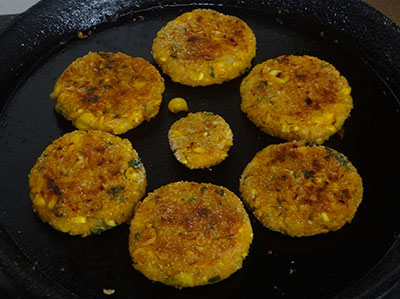 corn cutlet or jola cutlet