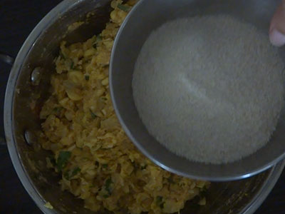 beaten rice powder for corn cutlet or jola cutlet