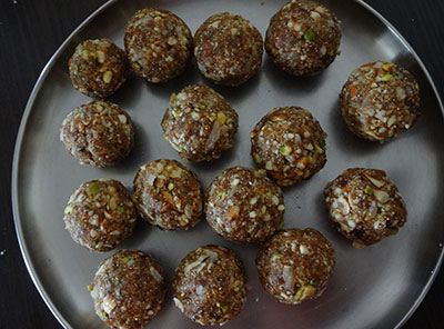 how to make dry fruits laddu or ladoo