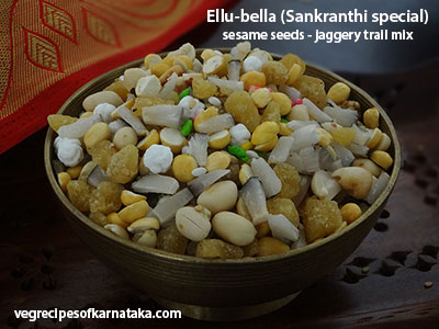 ellu bella or yellu bella recipe
