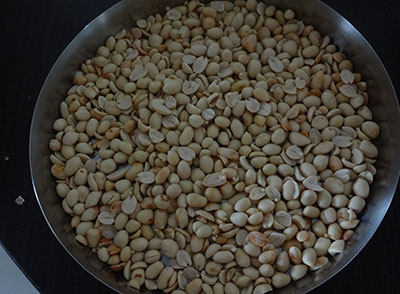 deskinned peanuts for ellu bella or yellu bella