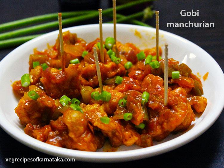 Gobi Manchurian Dry Recipe How To Make Gobi Manchurian Tasty Gobi Manchurian Dry Karnataka Style Cauliflower Manchuri