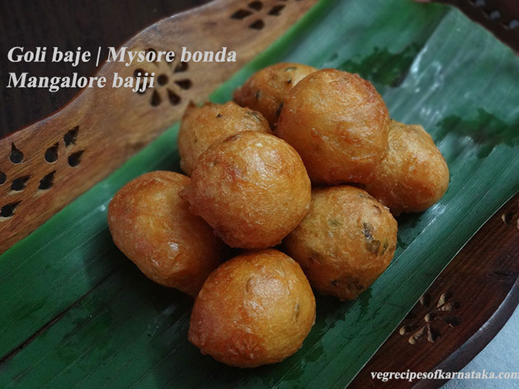 goli baje or mangalore bajji recipe