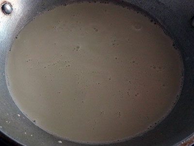 thin batter for halbai or halubai