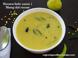 green gram dal rasam recipe