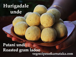 Fried gram laddu recipe