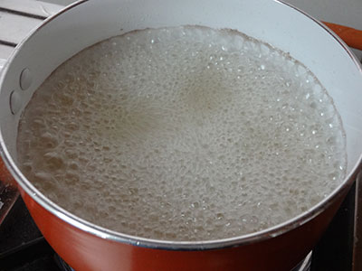 boiling sugar syrup for soft gulab jamun using ready mix