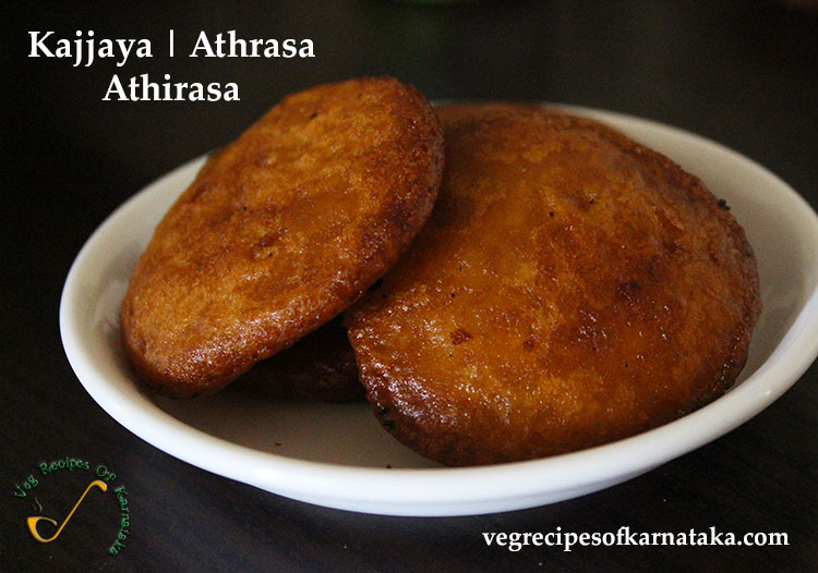 athrasa or kajjaya recipe