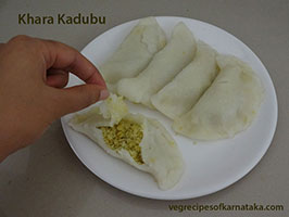 khara kadubu recipe