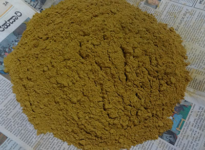 ground kashaya powder or kashaya pudi