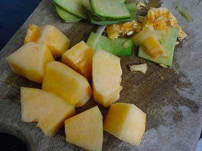 muskmelon for kharbuja panaka or muskmelon juice