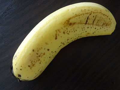 well ripened banana for mangalore buns