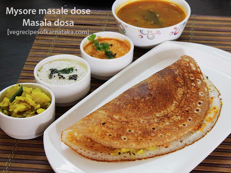 Mysore masala dosa recipe how to make karnataka style masala dosa karnataka style masala dosa recipe mysore masala dosa forumfinder Images