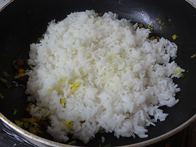 rice for mavinakai chitranna or mango rice