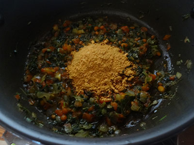 masala powder for menthe soppu rice bath or methi rice