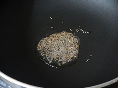 cumin seeds for pudina shavige or mint vermicelli