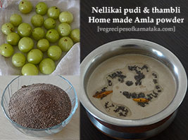 nellikai or amla powder recipe