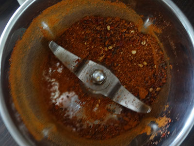 spice powder for nellikai thokku or amla thokku