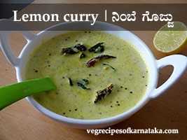 lemon gojju recipe