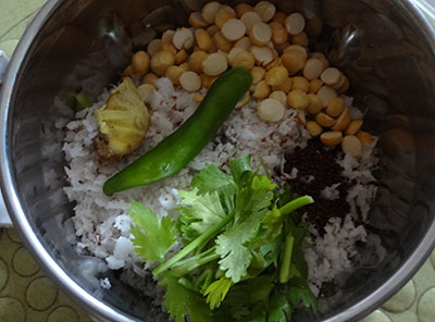 ingredients for hasi majjige for nuchinunde