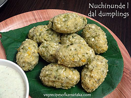 nuchinunde recipe