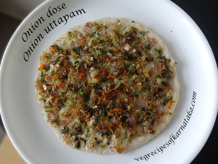 onion dosa recipe,how to make onion uttappam