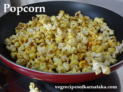 pop corn recipe