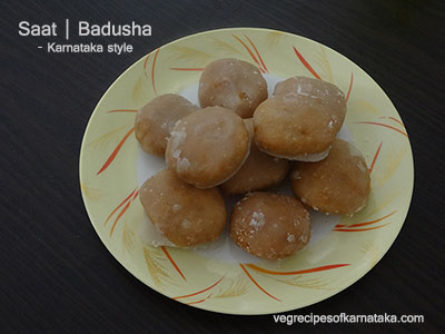 saat or badusha recipe