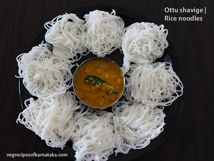 Ottu shavige or akki shavige recipe