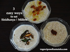easy way to eat millets