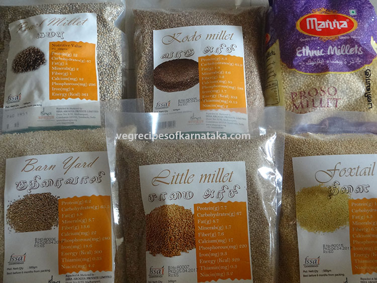 what is siridhanya or millets
