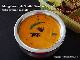 cucumber sambar recipe