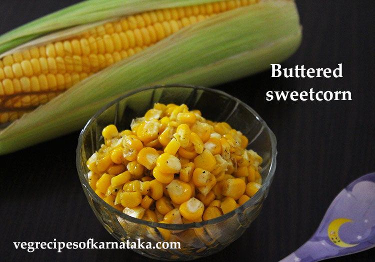 buttered sweet corn recipe