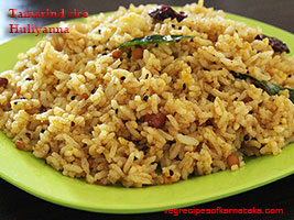 tamarind rice or huliyanna recipe