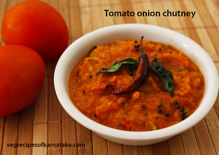 tomato onion chutney recipe