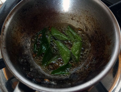 tempering for udupi or mangalore rasam or saaru