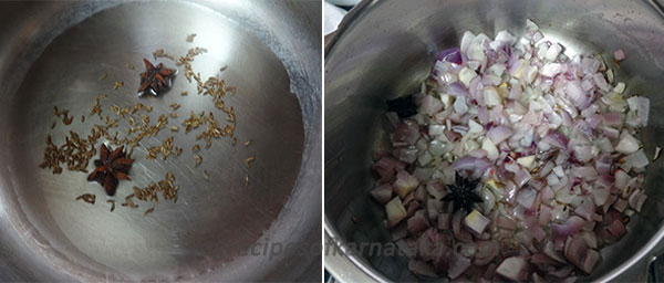 tempering for karnataka style pulao